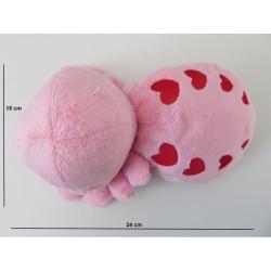 Dimensions de la peluche : 24 cm de long et 15 cm de large