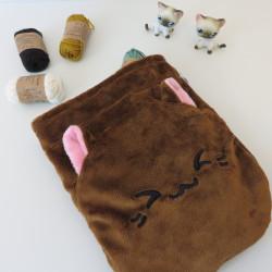 Suggestion de présentation : en sac à projet tricot ou crochet
